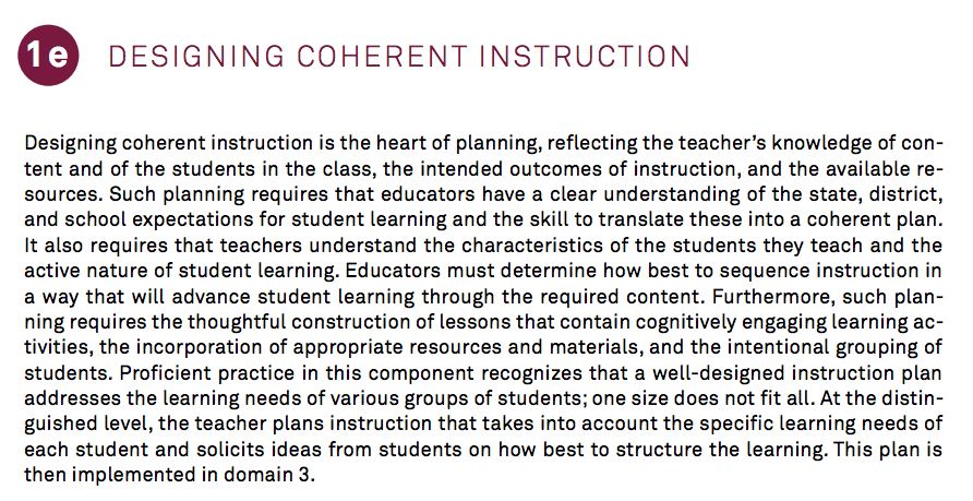Collaborative Classroom Games ~ E designing coherent instruction what s going on in