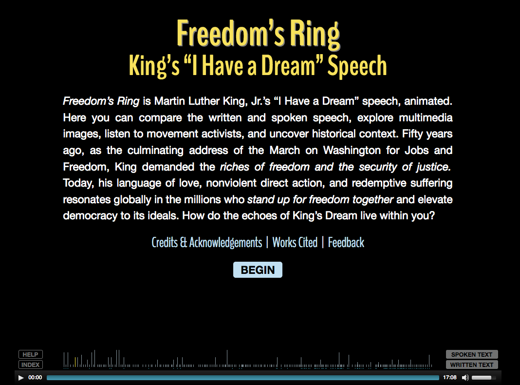 Martin luther king speech essay